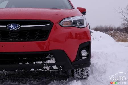 2020 Subaru Crosstrek, front