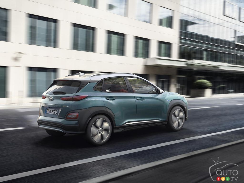 Hyundai Kona Electric SUV Unveiled