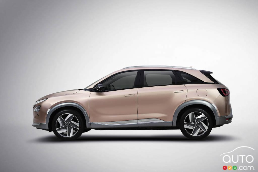 Hyundai dévoile un VUS à hydrogène pouvant devenir autonome