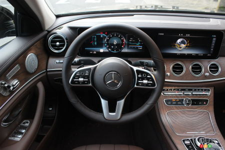 2020 Mercedes-Benz E 450, interior