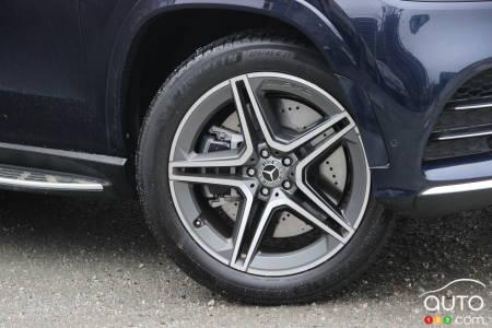 2020 Mercedes-Benz GLS 450, wheel