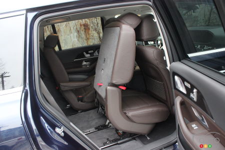 2020 Mercedes-Benz GLS 450, seat advanced
