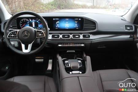 Mercedes-Benz GLS 450 2020, intérieur