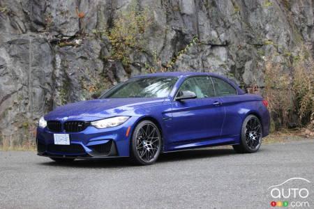 2020 BMW M4 Cabriolet, three-quarters front