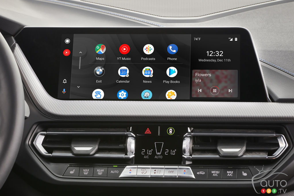 BMW adopte finalement Android Auto