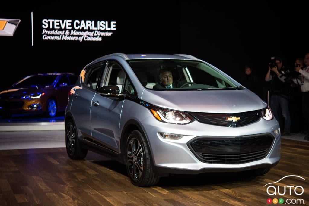 Top 10 Toronto Auto Show Unveils 2017 Chevrolet Bolt Page 1 Of