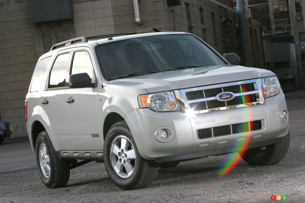 2008 Ford Escape Xlt Awd Road Test Editor S Review Car
