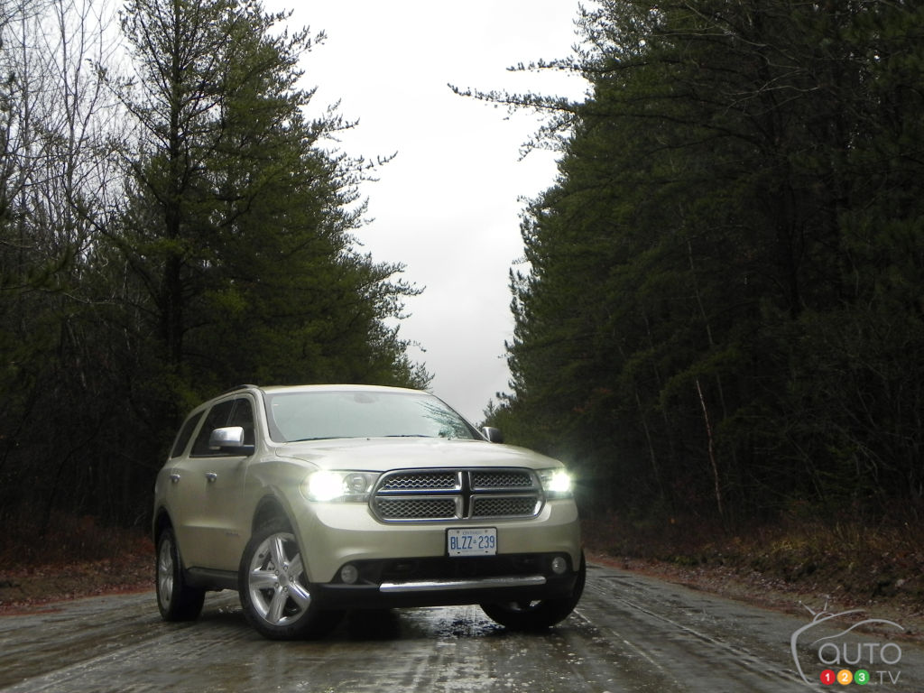 2012 Dodge Durango Citadel Review