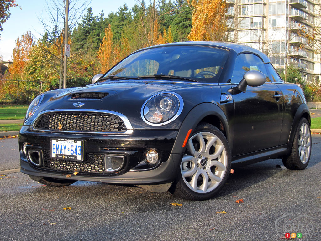 2012 MINI Cooper S Coupé Review