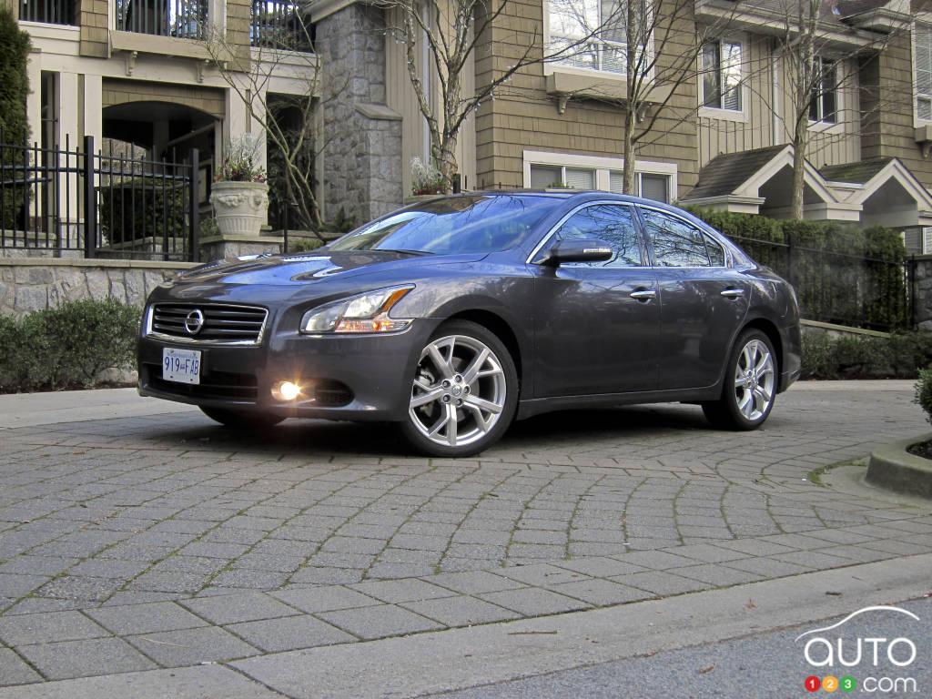 2012 Nissan Maxima 3.5 SV | Car News | Auto123