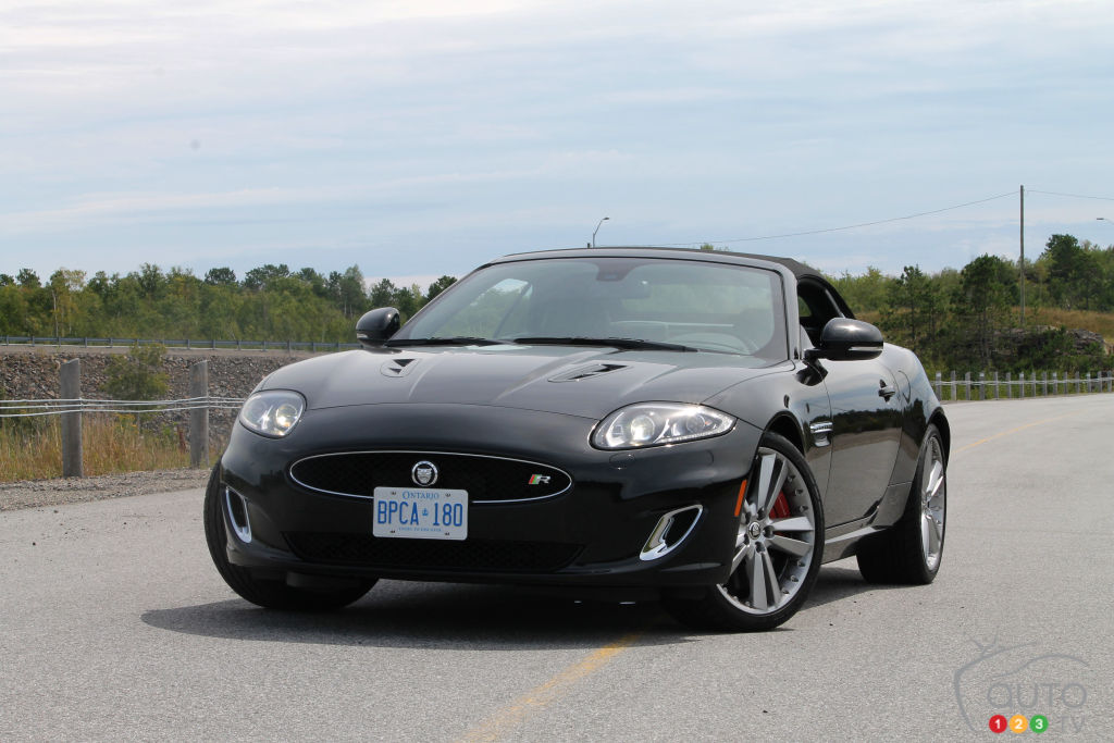 2012 jaguar xkr convertible car reviews auto123. Black Bedroom Furniture Sets. Home Design Ideas