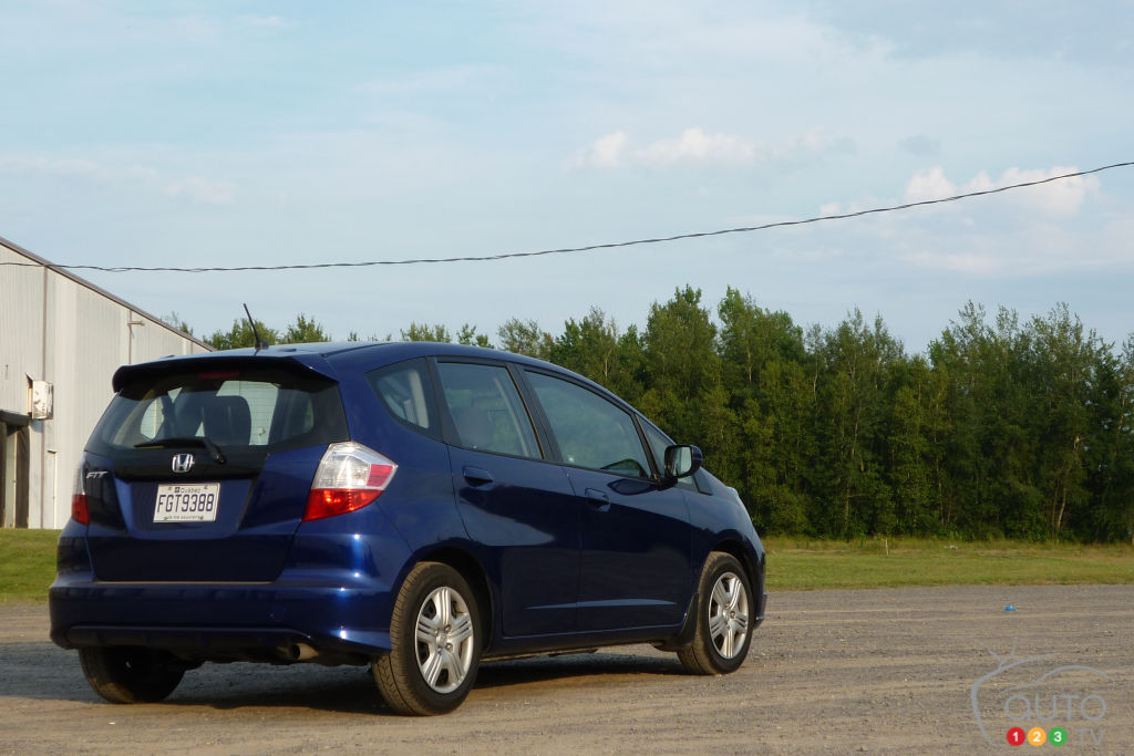 2012 Honda Fit LX Review