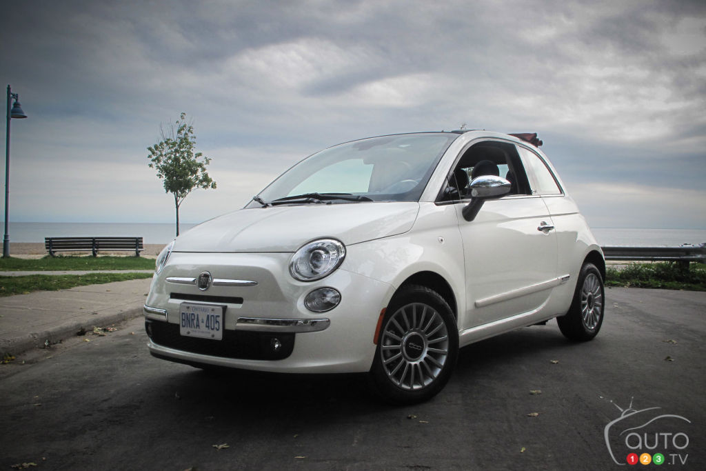 fiat 500c lounge 2012 essais routiers auto123. Black Bedroom Furniture Sets. Home Design Ideas