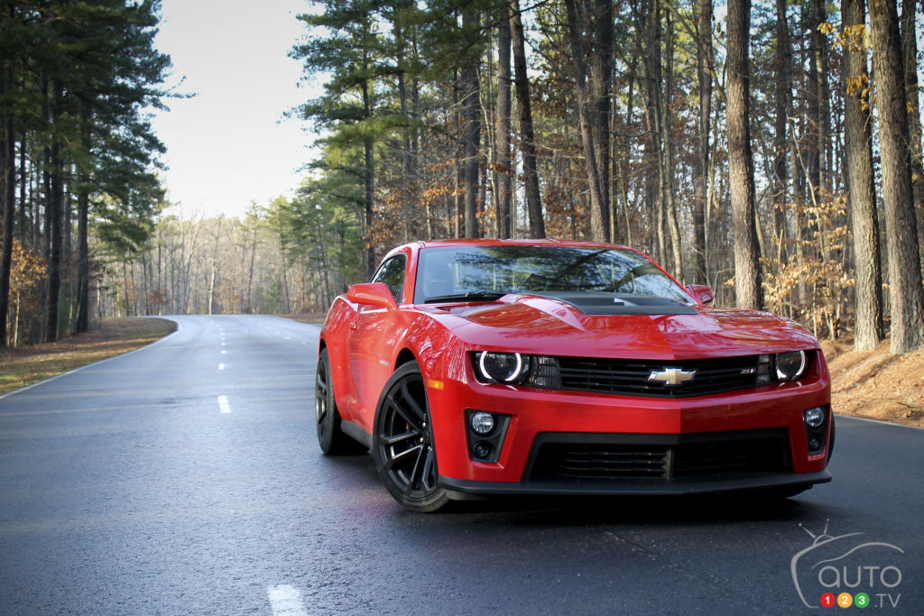 2013 Chevrolet Camaro Zl1 Car News Auto123