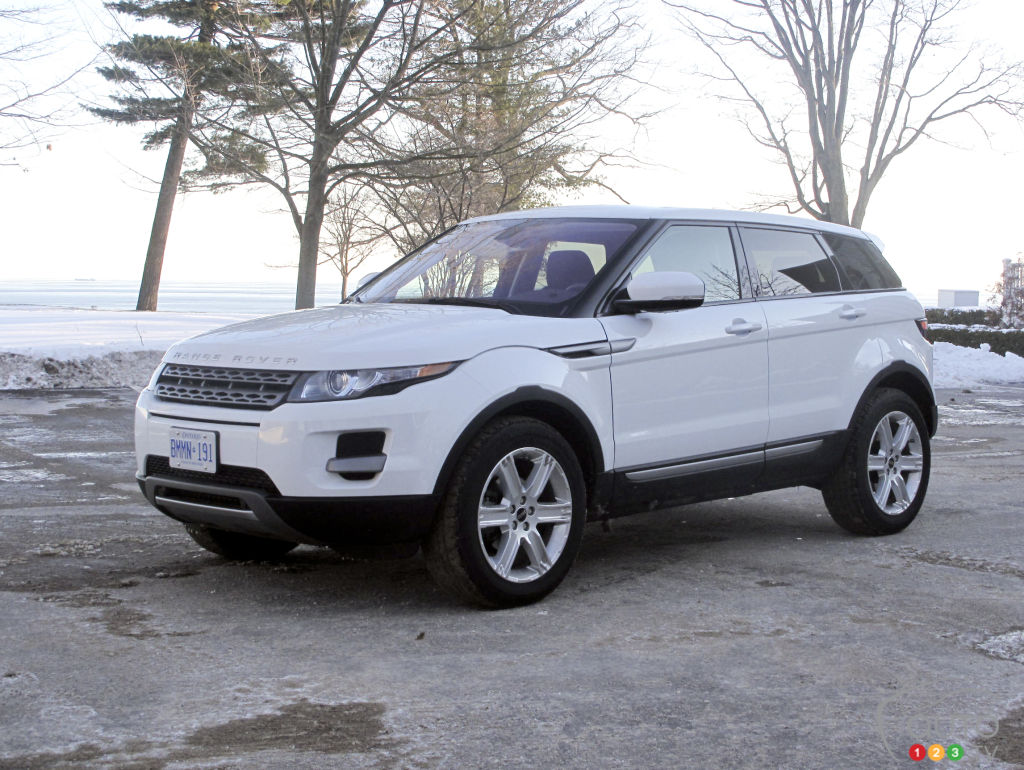 2012 Range Rover Evoque Pure Review