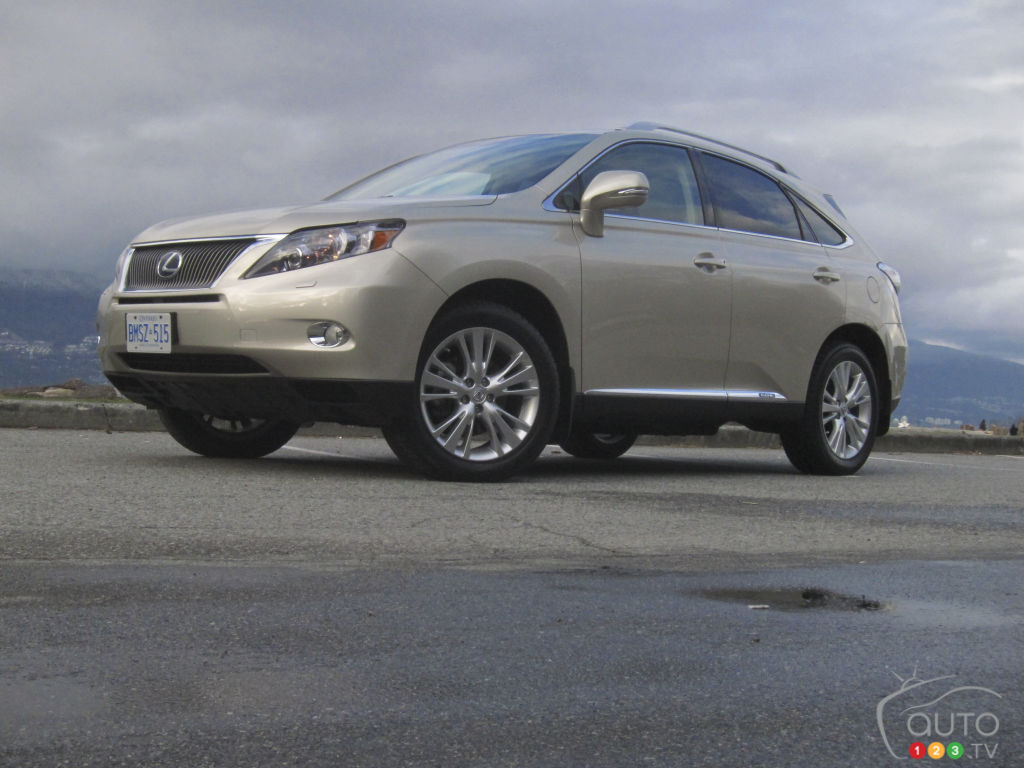 2012 Lexus RX 450h Review