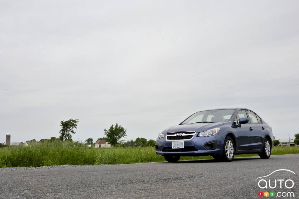 Subaru Impreza Touring Berline 2012 Essais Routiers