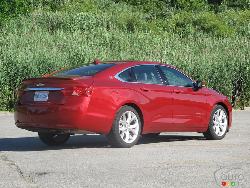 2014 Chevrolet Impala LT Review