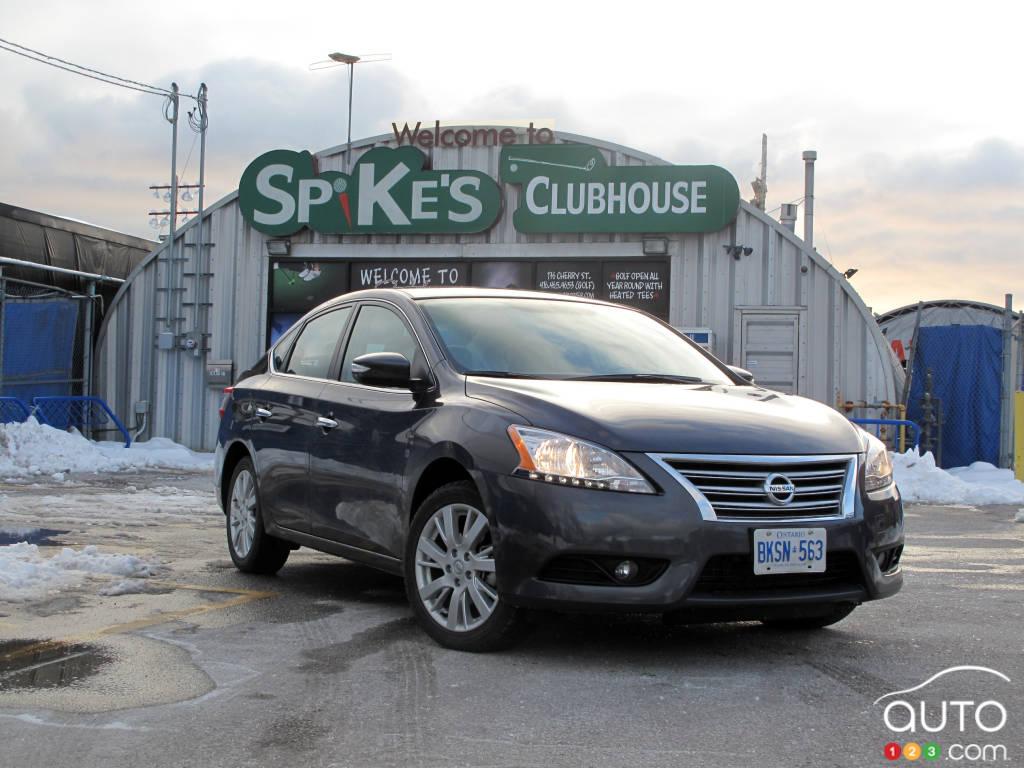 2013 Nissan Sentra SL | Car Reviews | Auto123