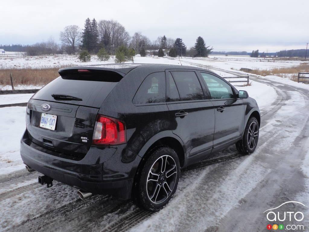 2013 ford edge sel awd car news auto123. Black Bedroom Furniture Sets. Home Design Ideas