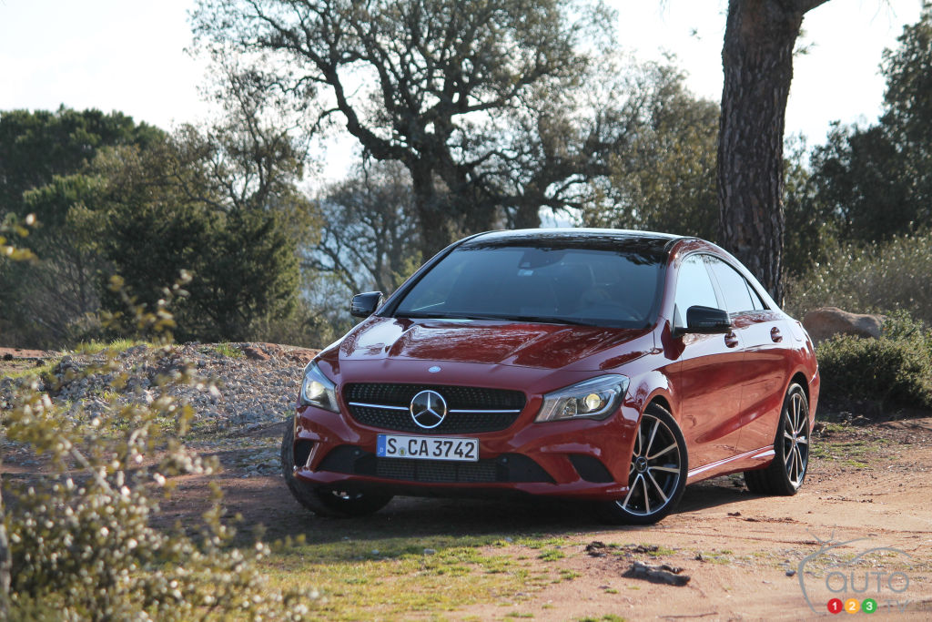 2014 mercedes cla class car news auto123 for 2014 mercedes benz cla class review
