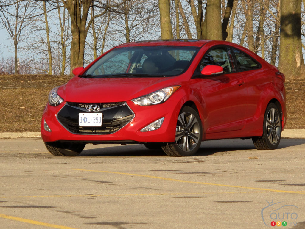 2013 Hyundai Elantra Reviews From Industry Experts Auto123
