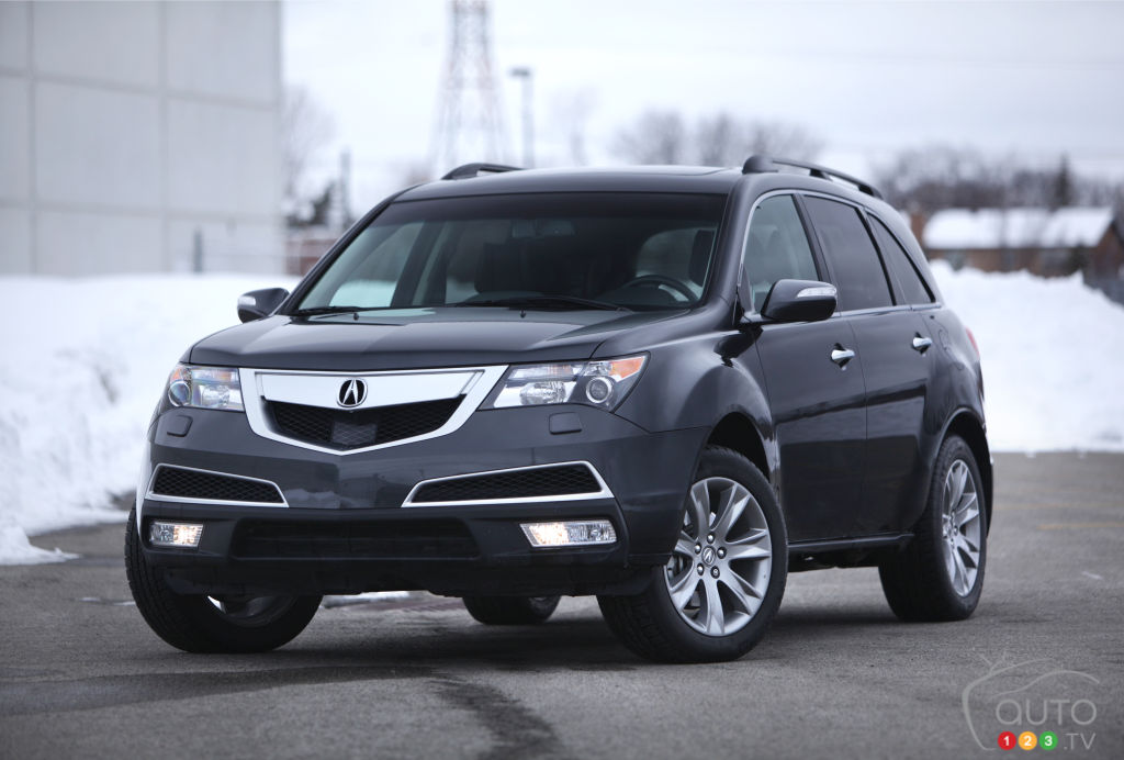 2013 acura mdx elite car news auto123. Black Bedroom Furniture Sets. Home Design Ideas