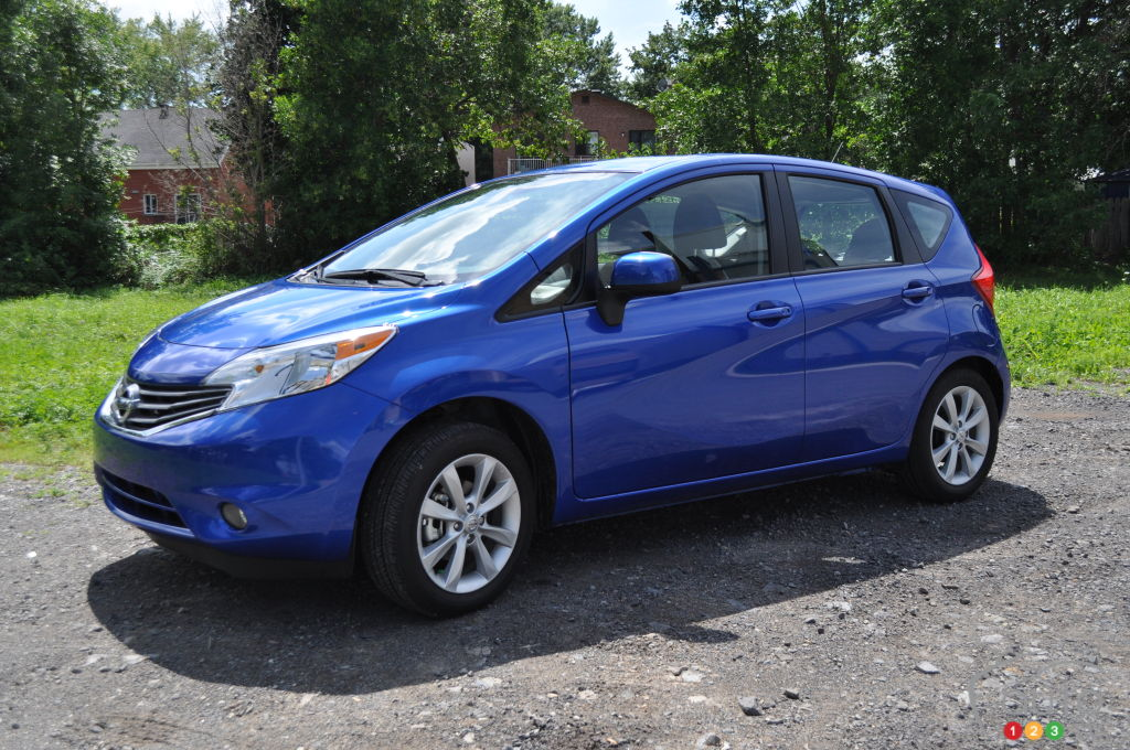 2014 nissan versa note car reviews auto123. Black Bedroom Furniture Sets. Home Design Ideas