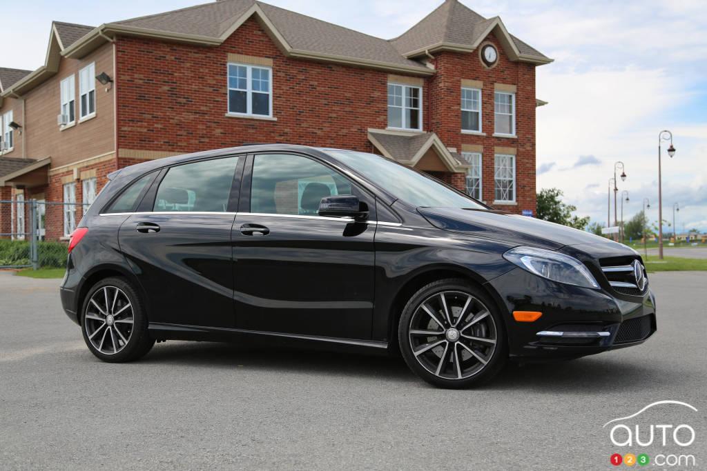 2013 mercedes benz b250 car news auto123. Black Bedroom Furniture Sets. Home Design Ideas