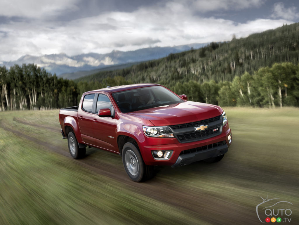 2015 Chevrolet Colorado Preview