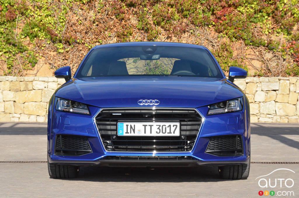 Audi TT 2016 : premières impressions