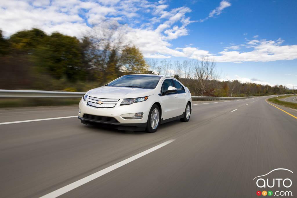 2015 Chevrolet Volt Preview