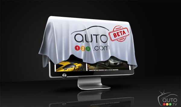 Launch of the new, multiplatform Auto123.com