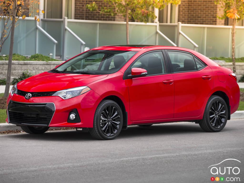Toyota Corolla 50e Anniversaire 2015 Seulement Au Canada