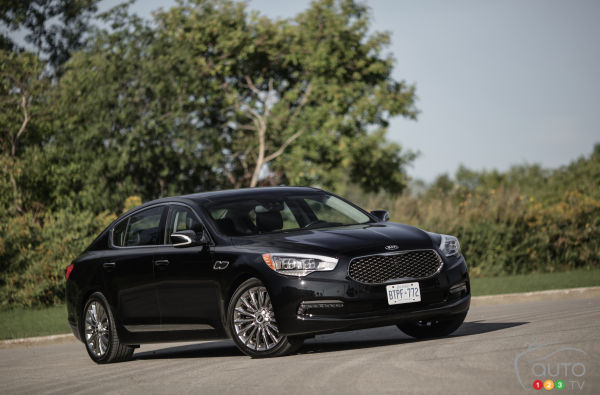 2015 Kia K900 V8 Elite Review