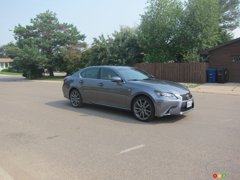 2014 lexus gs 350 awd editor 39 s review car reviews auto123. Black Bedroom Furniture Sets. Home Design Ideas