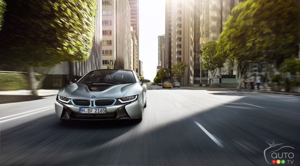 Prepare for faster, sportier BMW i8