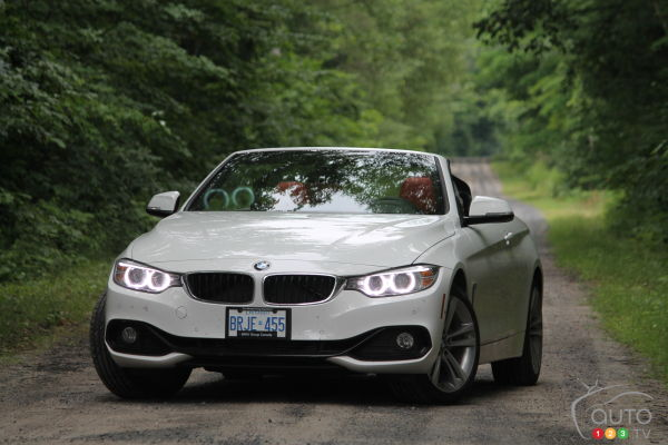 2014 BMW 428i xDrive Cabriolet Review