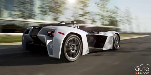 SEMA 2014: la super voiture canadienne Magnum MK5 sera sur place