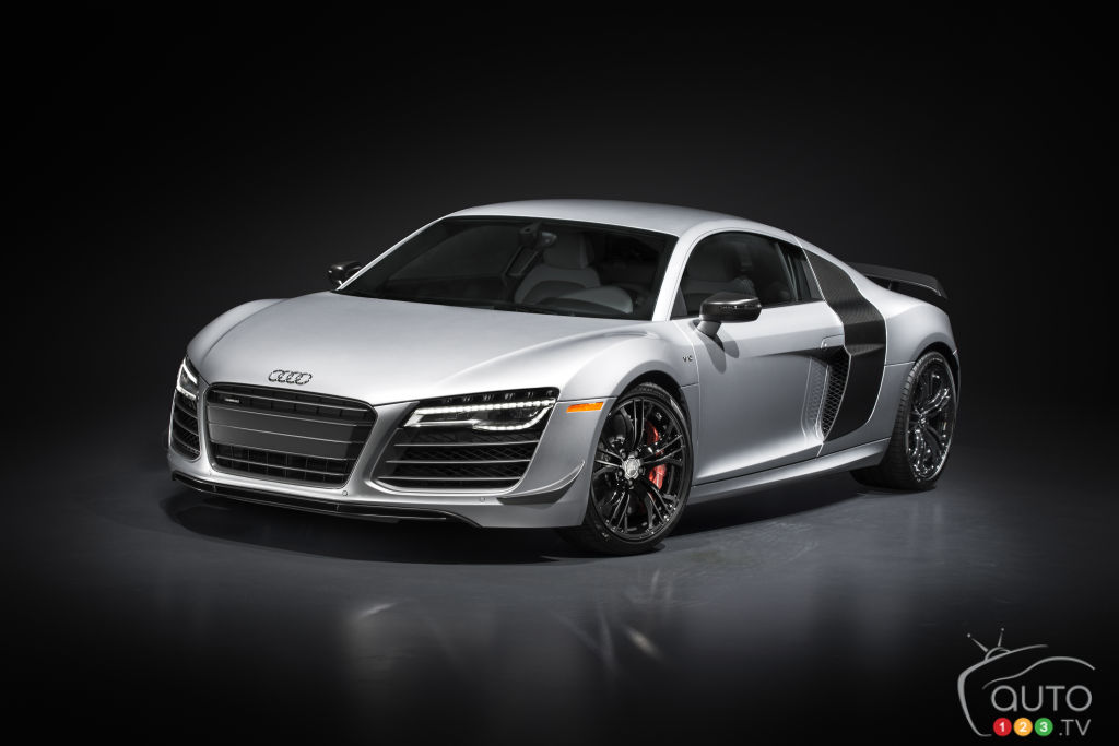 R8 competition is Audi's most powerful car ever