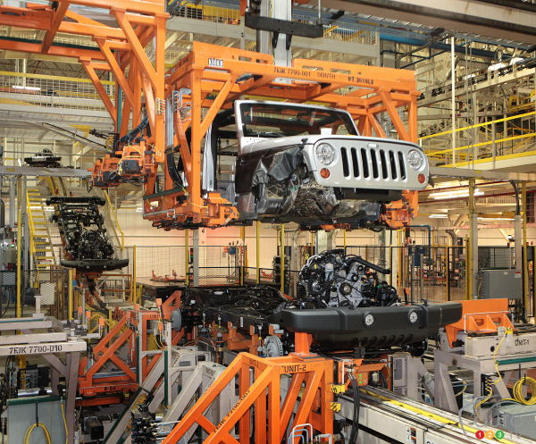 Wrangler to gain aluminum body, retain body-on-frame construction