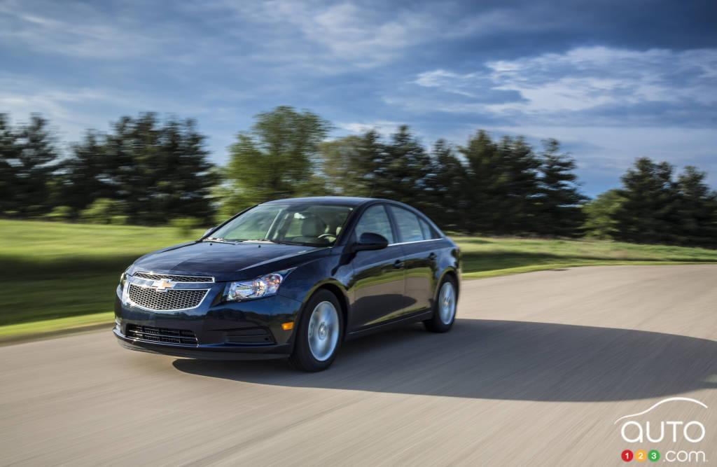 Cinq faits saillants au sujet de la Chevrolet Cruze turbo diesel