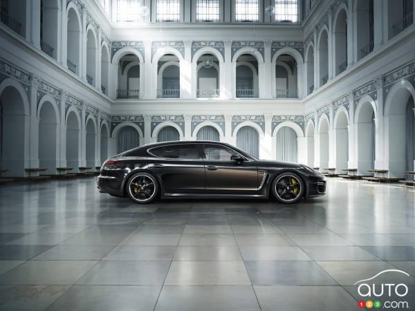 Porsche Panamera Exclusive Series : première mondiale au Salon de L.A.