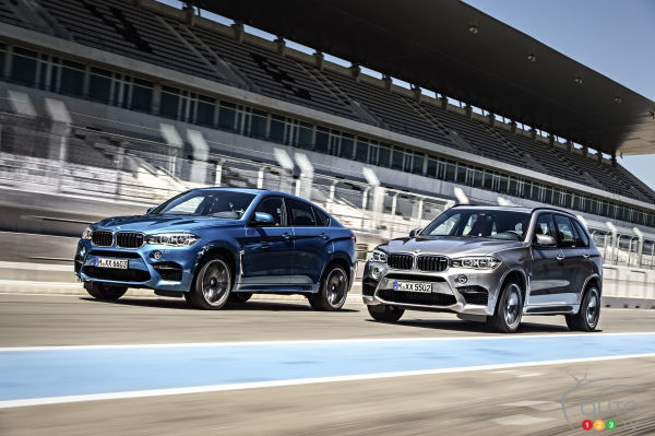 World debut of BMW X5 M and X6 M in Los Angeles