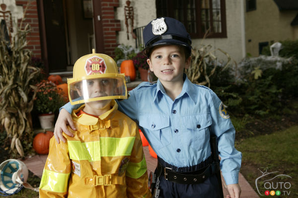 CAA-Quebec tips for a safe Halloween night