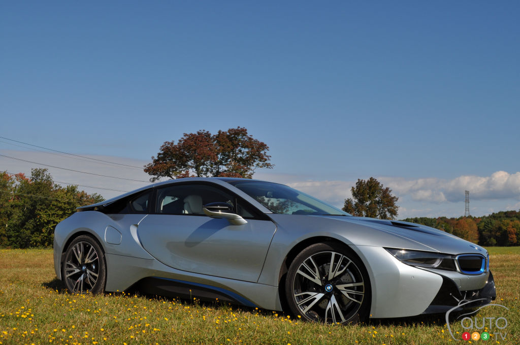2015 BMW i8 First Impression