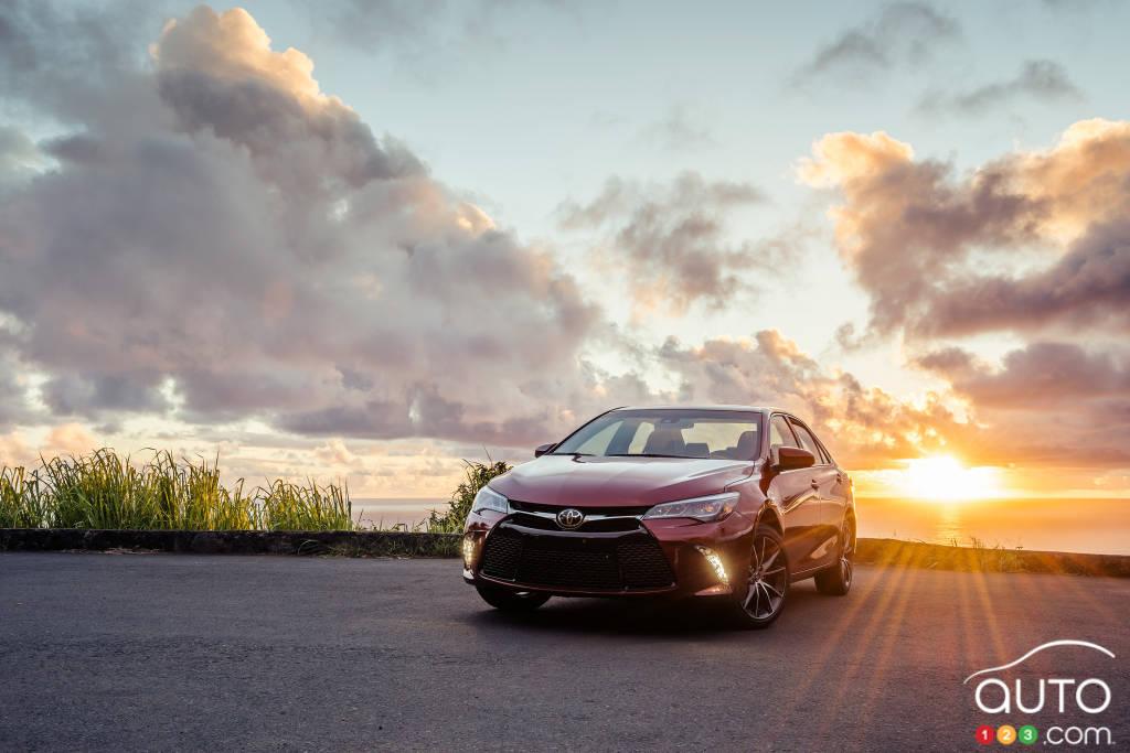 Toyota Camry 2015 : premières impressions
