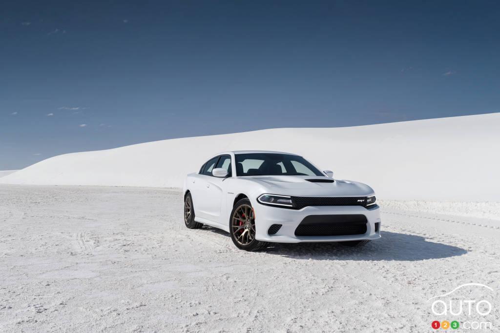 Dodge Charger SRT Hellcat 2015 : premières impressions