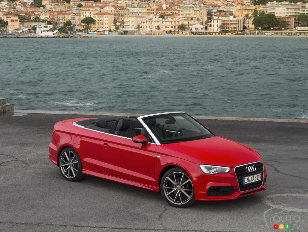 audi a3 cabriolet 2015 aper u nouvelles auto123. Black Bedroom Furniture Sets. Home Design Ideas