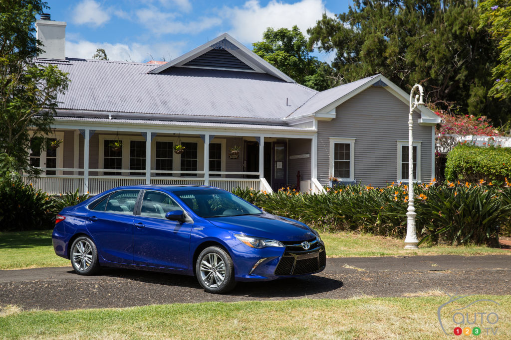 Toyota Camry hybride 2015 : premières impressions